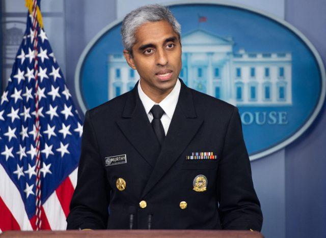 US Surgeon General Dr. Vivek H. Murthy
