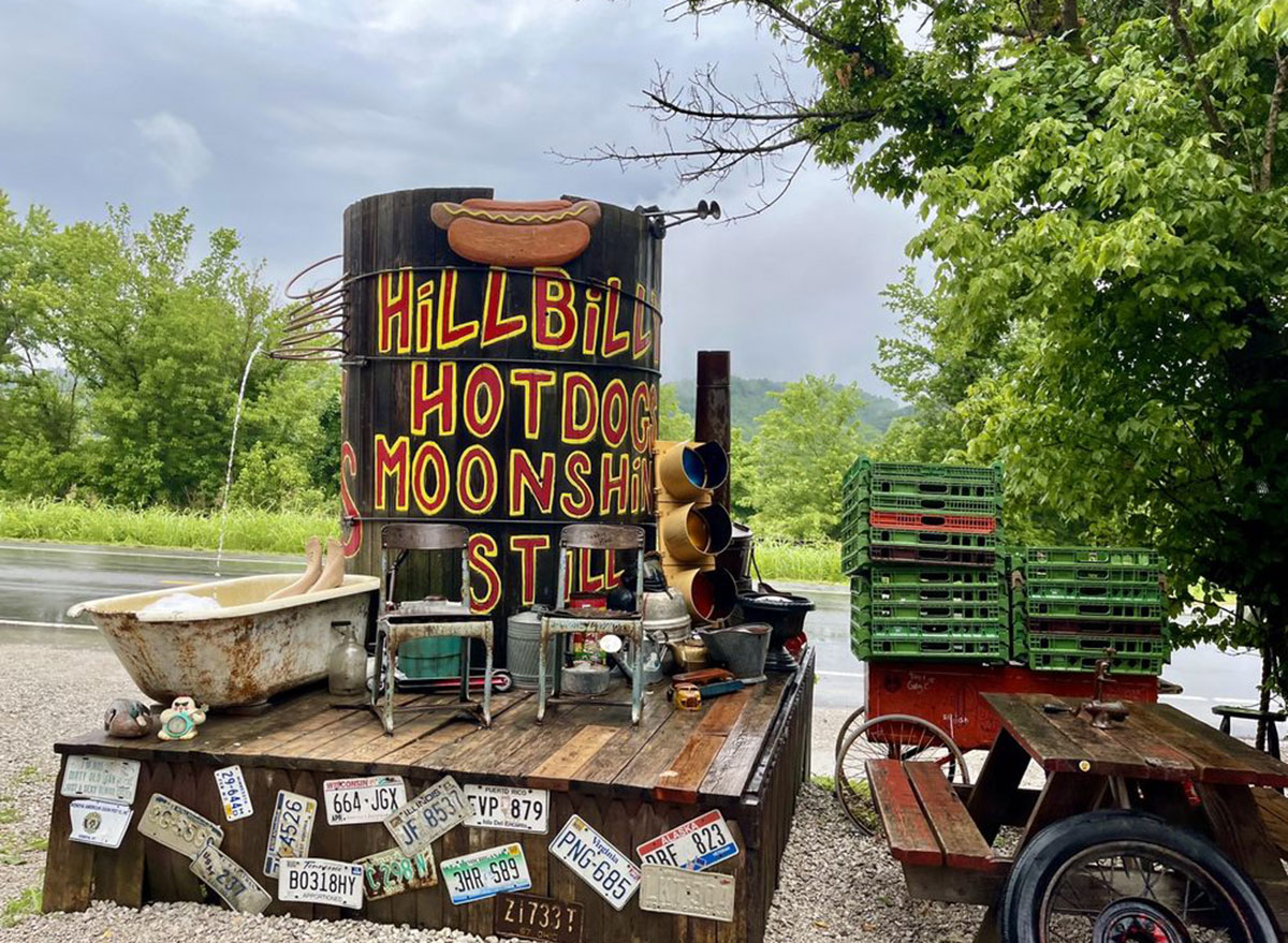 west virginia hillibilly hot dogs