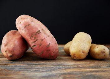 plain vs white potatoes