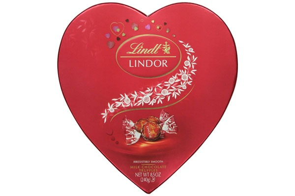 Valentines Candy Ranked Lindt Lindor Milk Chocolate Truffles
