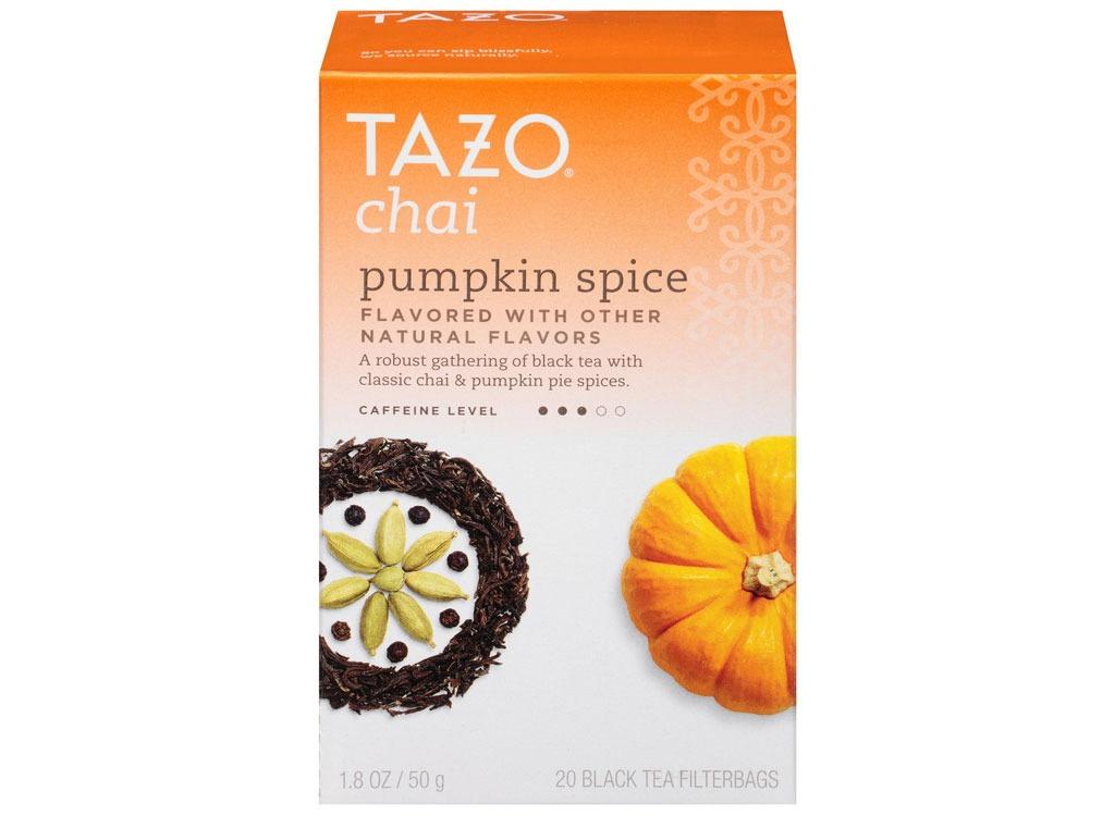 tazo chai pumpkin black tea