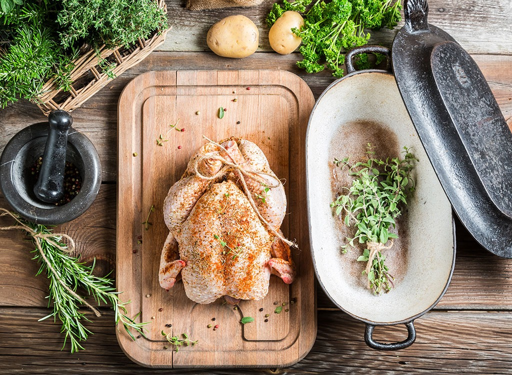 Marjoram chicken