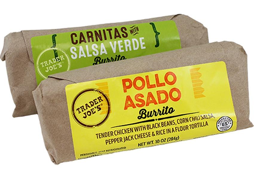 trader joes burritos