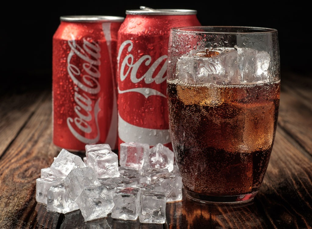 coca cola soda ice