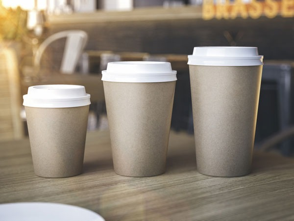 Assorted coffee cup sizes- pho