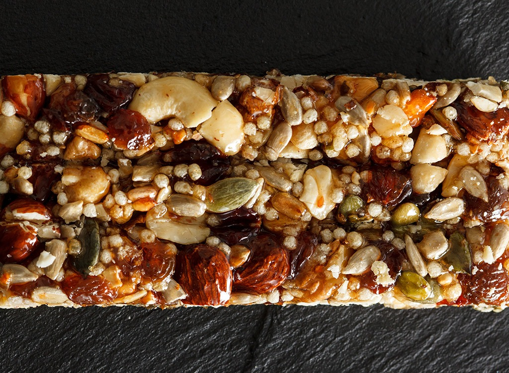 energy bars - how to lose weight
