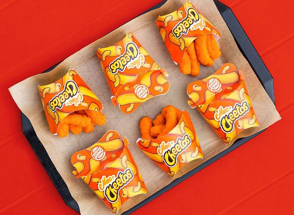 Burger king mac and cheetos