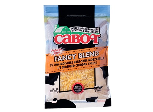 Cabot Cheese Fancy Blend Shredded Cheese
