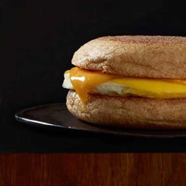 Egg Cheddar Breakfast Sandwich