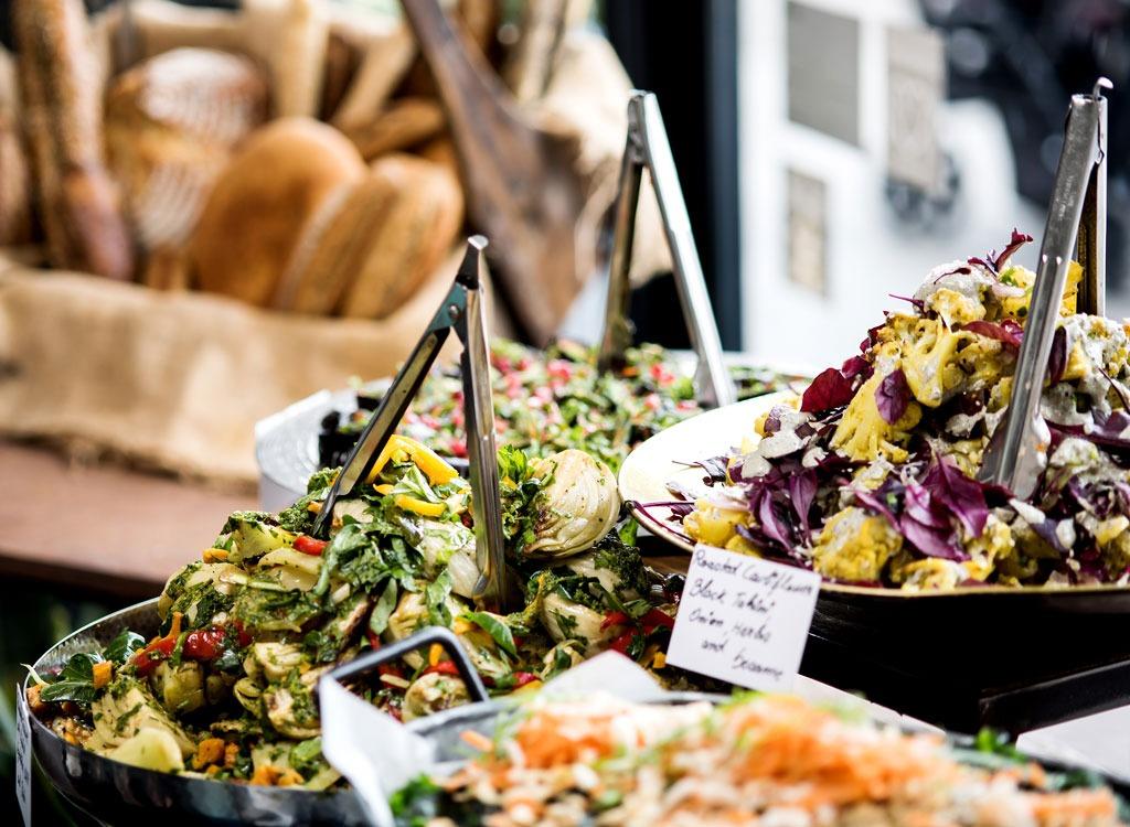 salad bar buffet tongs