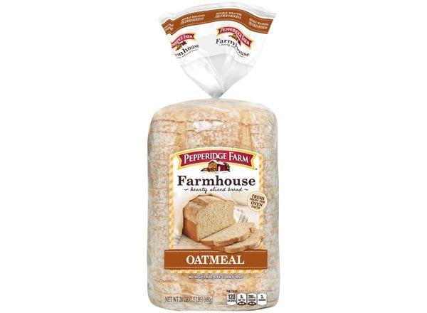 pepperidge farms farmhouse  oatmeal bread