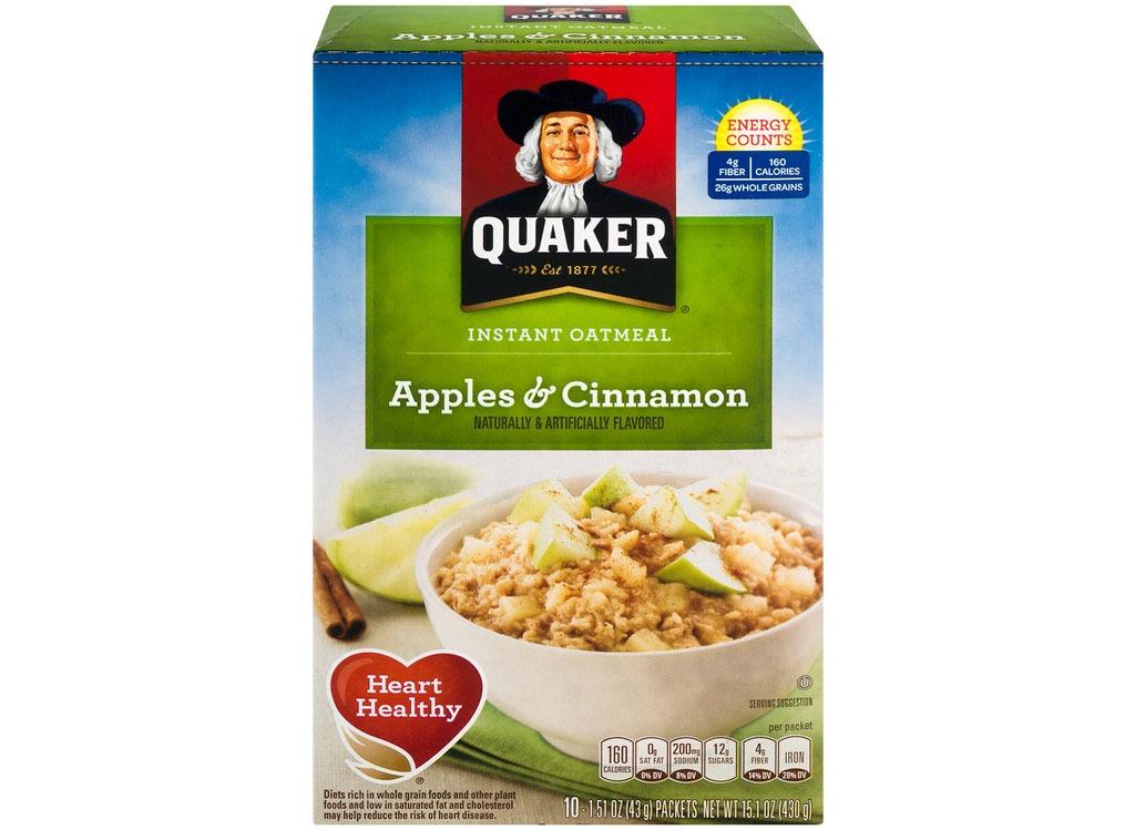 quaker applescinnamon