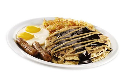 dennys pb cup pancakes