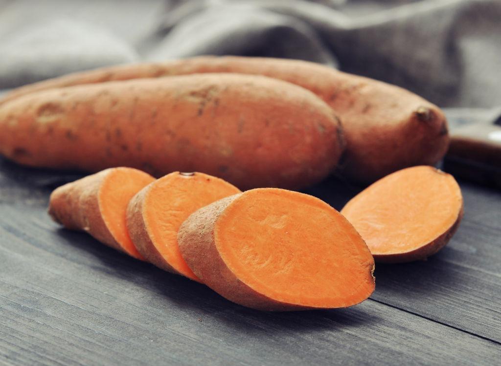 Bikini body sweet potatoes