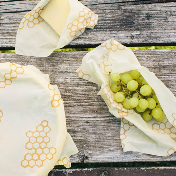 bees wrap reusable food storage wrap