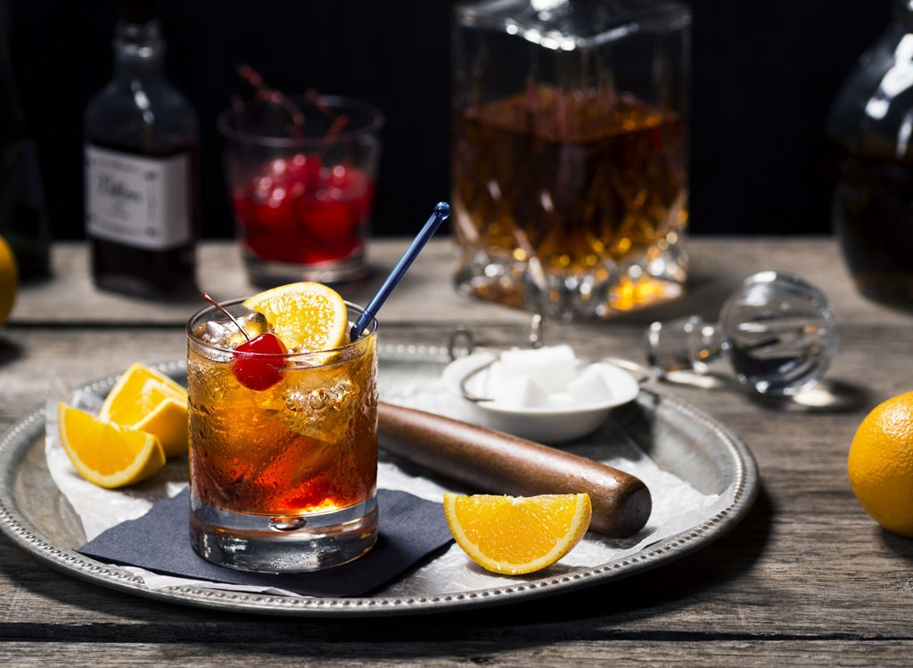 Cocktail mixers low calorie