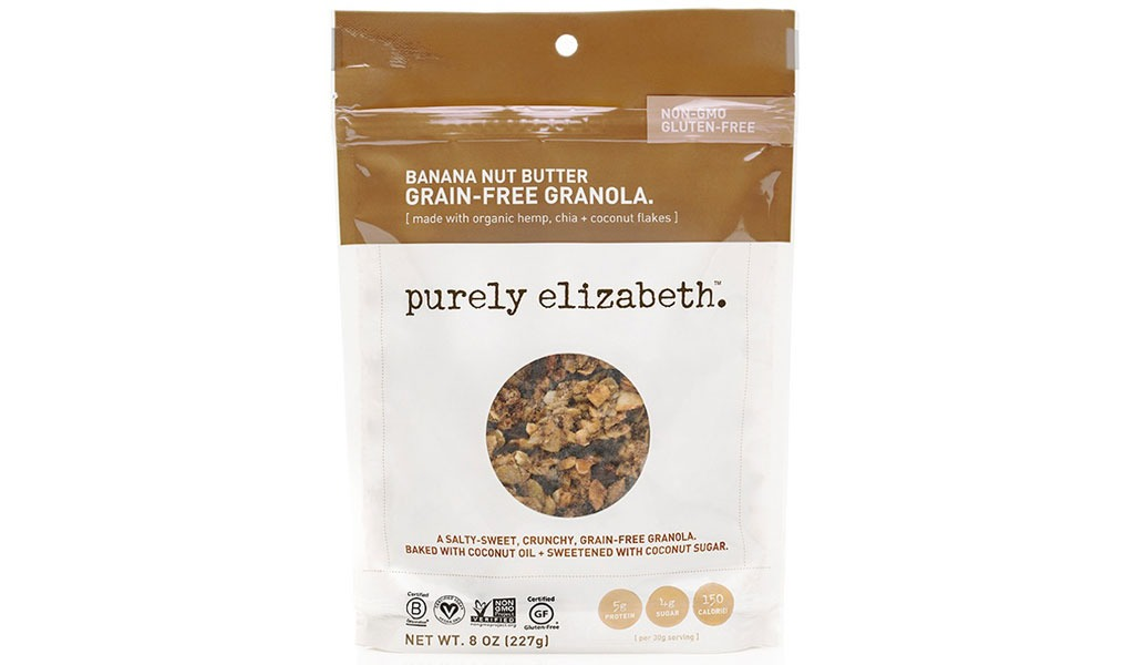purely elizabeth banana nut butter grain-free granola