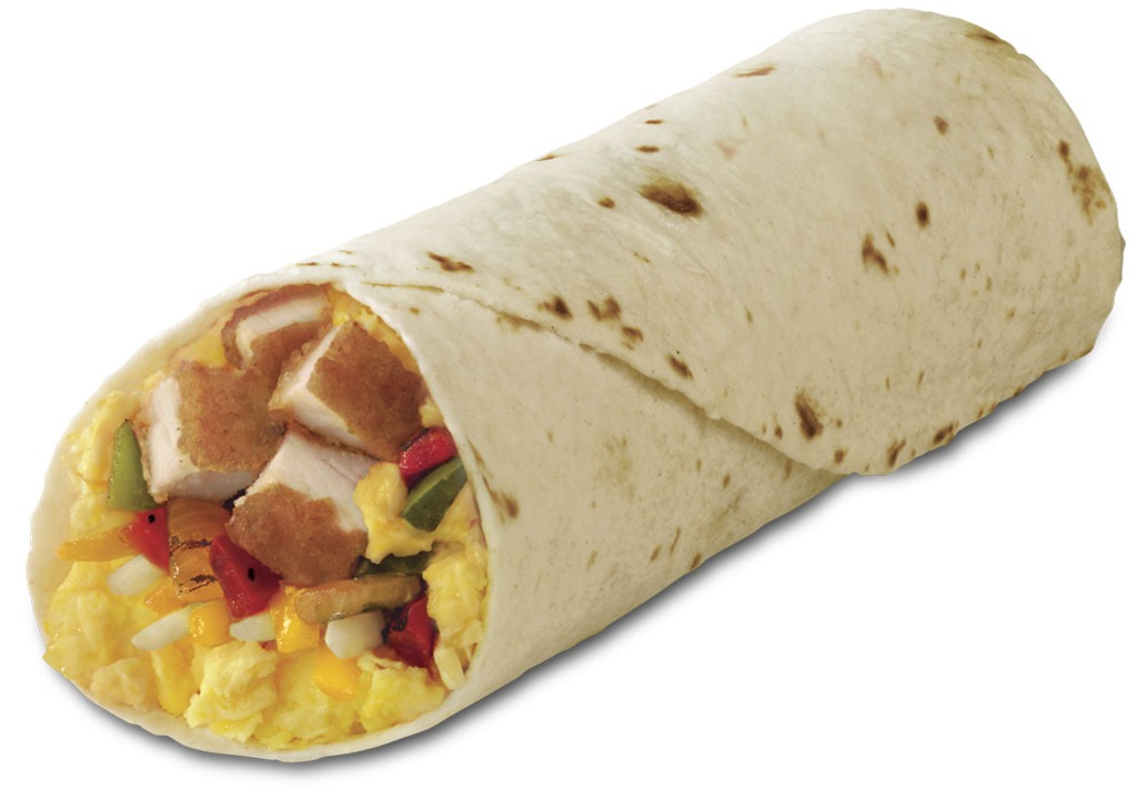 Chicken Breakfast Burrito