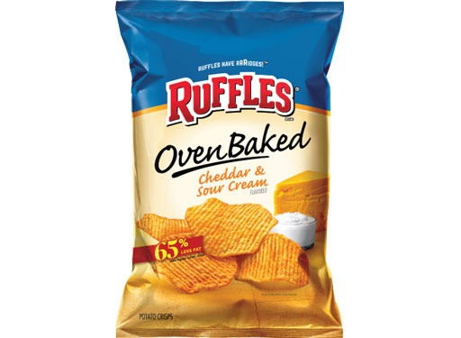 ruffles oven baked cheddar and sour cream