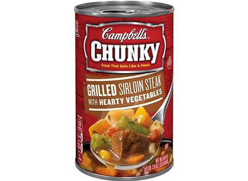 Campbell's Chunky Grilled Sirloin Steak with Hearty Vegetables