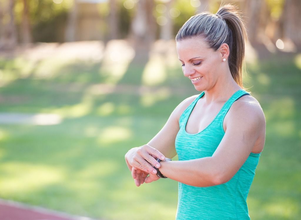 Motivational tips fitness watch