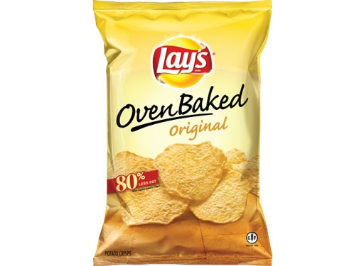 lay's oven baked potato chips original