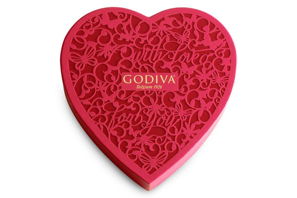 Valentines Candy Ranked Godiva Assorted Chocolates