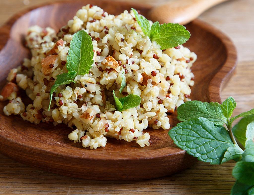 Gut health quinoa