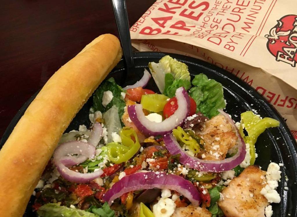 fazolis salad