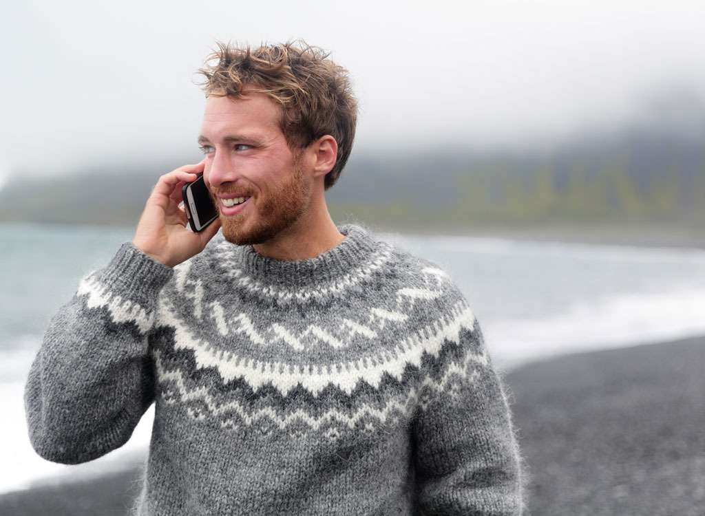 How to be happy talking on phone