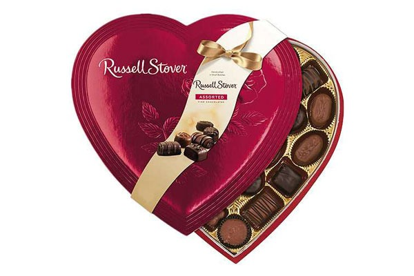 Valentines Candy Ranked Russell Stover Assorted Fine Chocolates