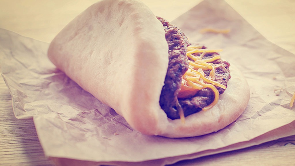Taco Bell Sausage & Cheese Biscuit Taco