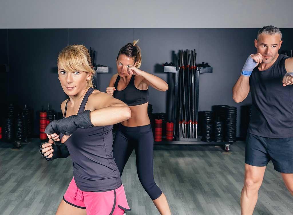 aerobics boxing