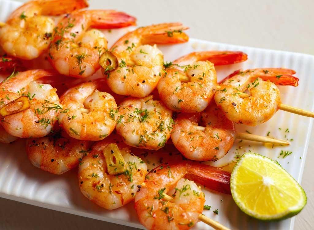 Food for women shrimp