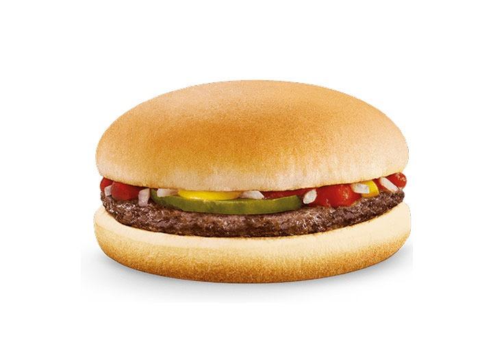 mcdonalds hamburger