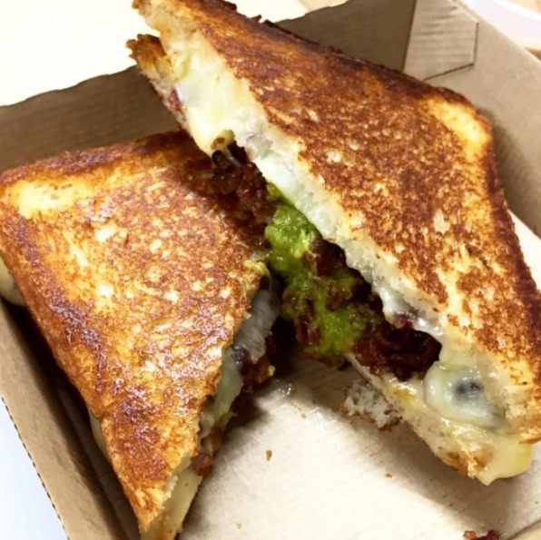 Green Muenster at Roxys Grilled Cheese