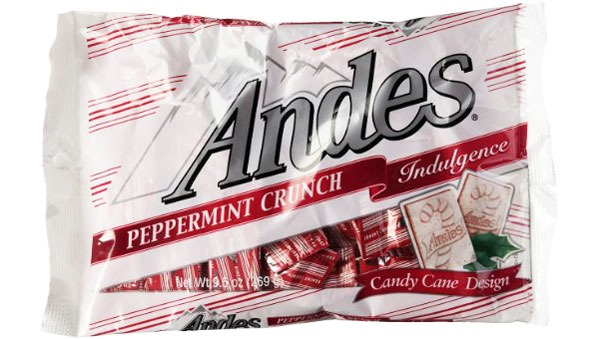 ANDES PEPPERMINT CRUNCH CANDY