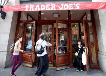 Trader Joes door opening