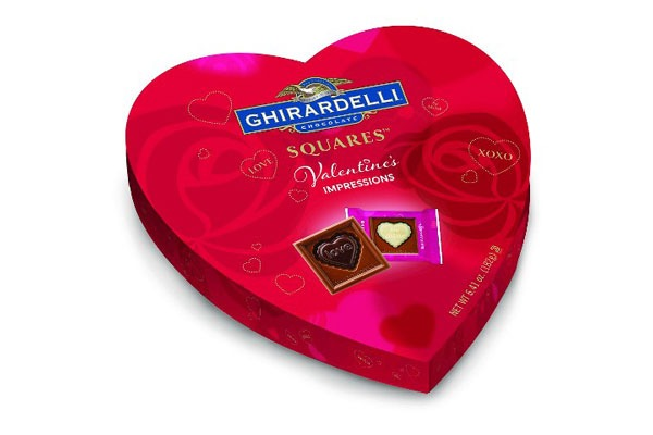 Valentines Candy Ranked Ghirardelli Milk squares