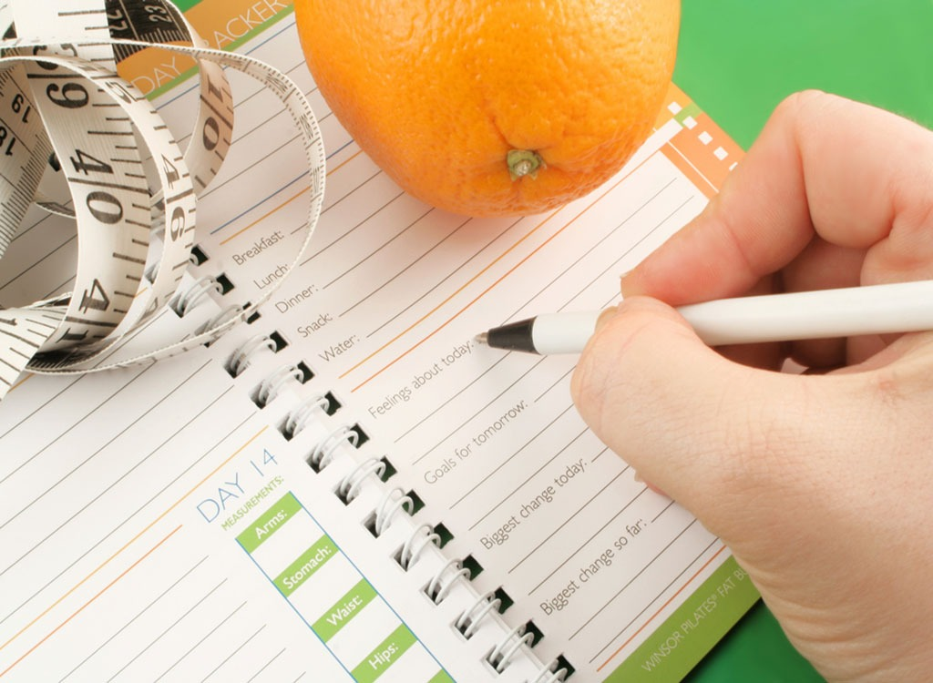 Food Journal - how to beat weight loss plateau