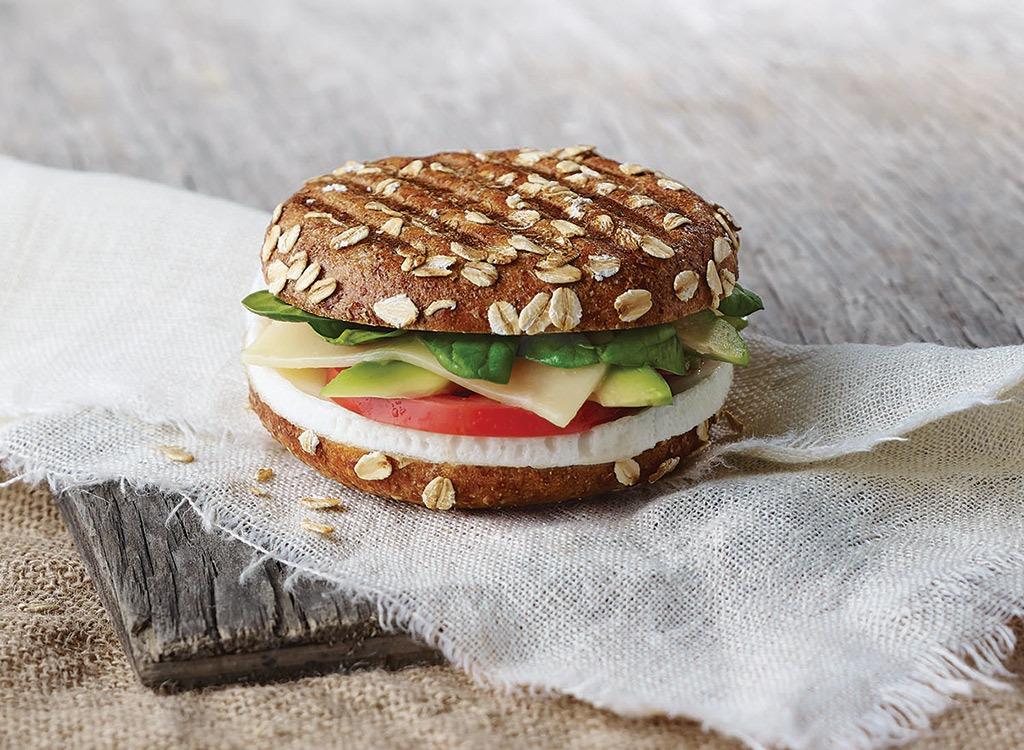 panera avocado egg white and spinach breakfast sandwich