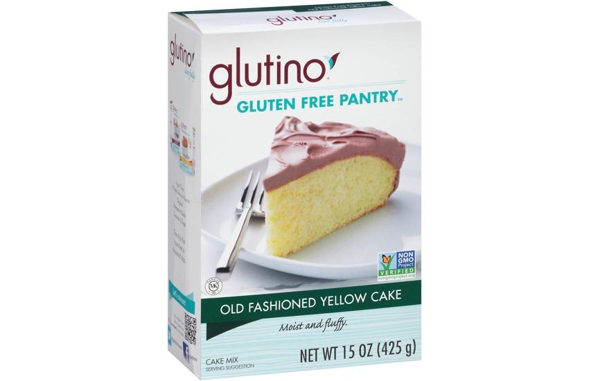 Glutino Gluten Free Pantry Old Fashioned Yellow Cake Mix