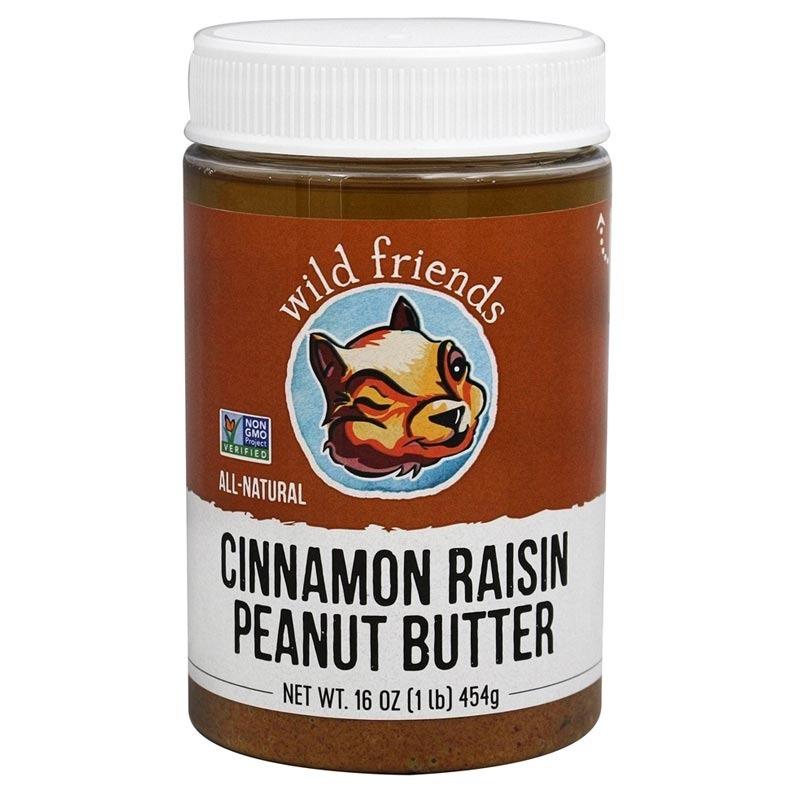wild friends all natural peanut butter cinnamon raisin