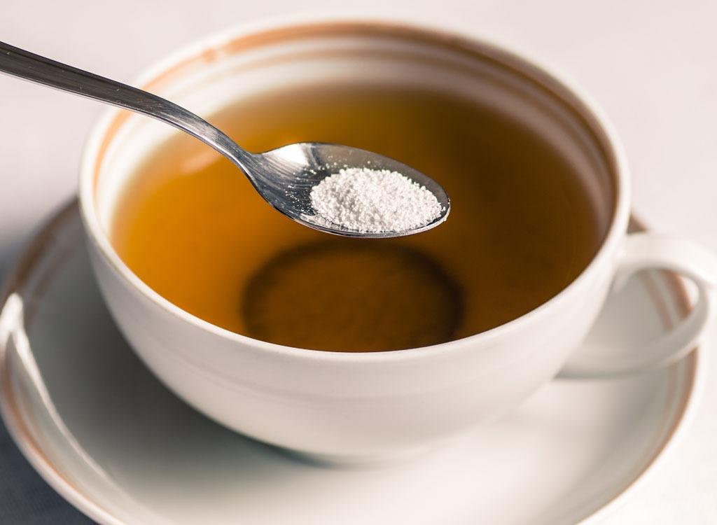 Sweeteners ranked sorbitol