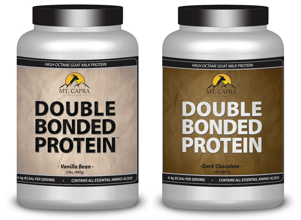 mt. Capra products double bonded goat milk protein