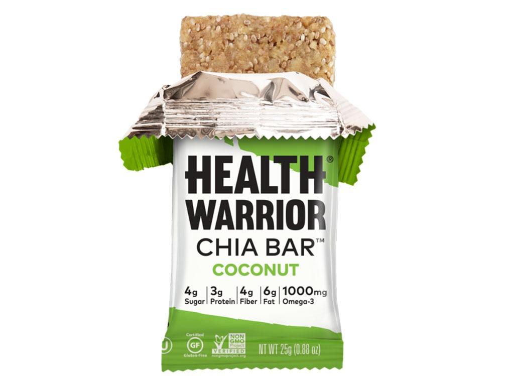 chia health warrior bars