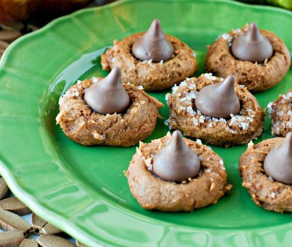 Holiday desserts pumpkin cookies