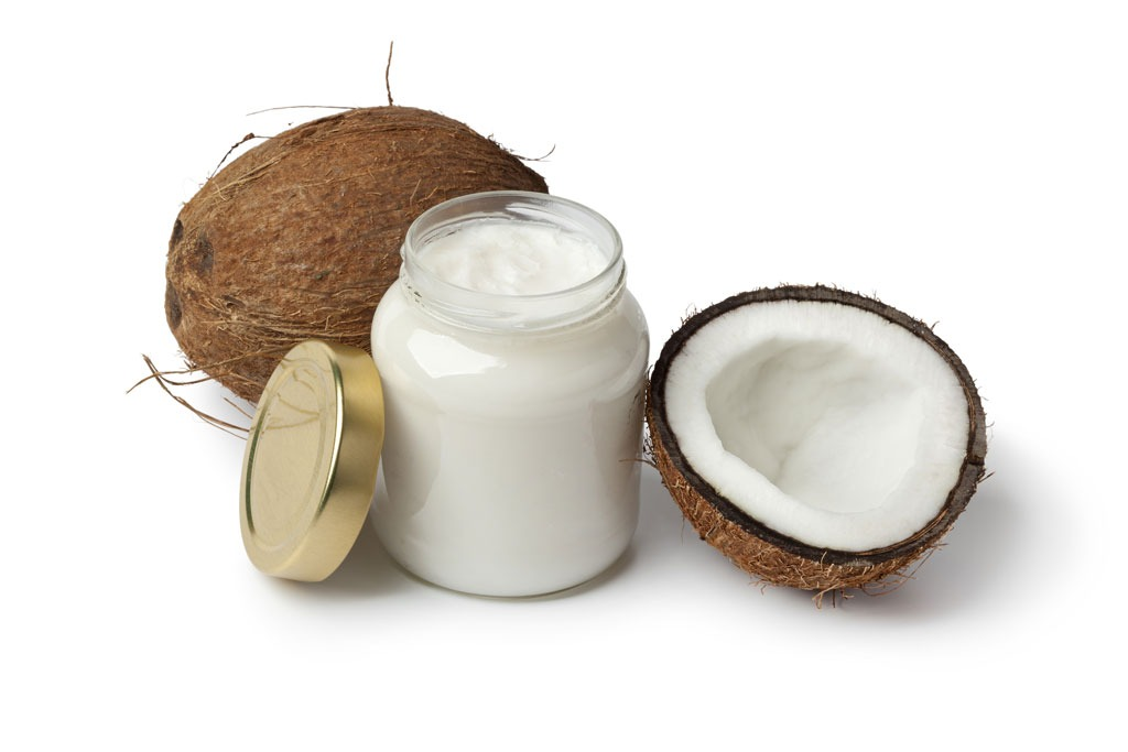 Coconut oil - best foods for gut health