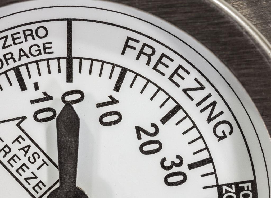 freezer thermometer temperature