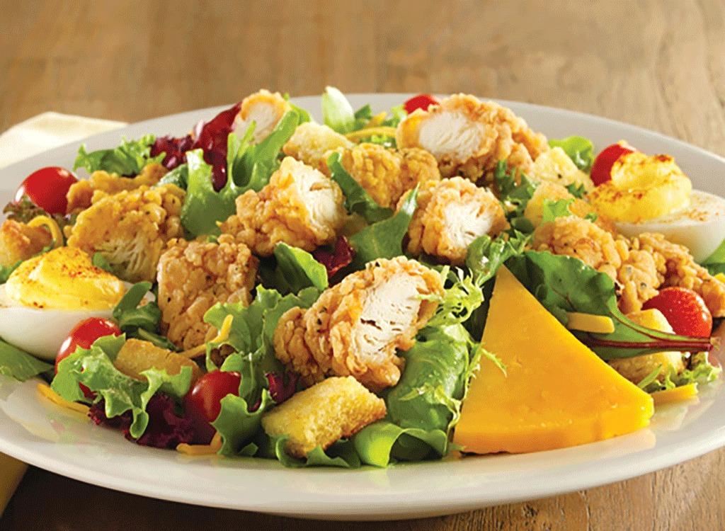 cracker barrel fried chicken salad